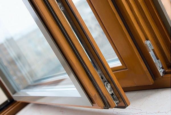 Окна алюминиевые цвета