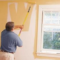как окрашивать стены
