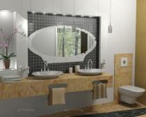 значимость зеркала для интерьера ванной