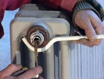 прочистка отопительных радиаторов