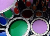 Разноцветная краска
