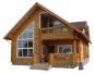 финский дом построенный из дерева