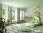 роспись стен в доме и квартире красками